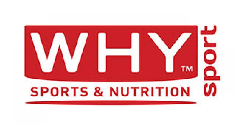 Logo Why Sport integratori Made in Italy